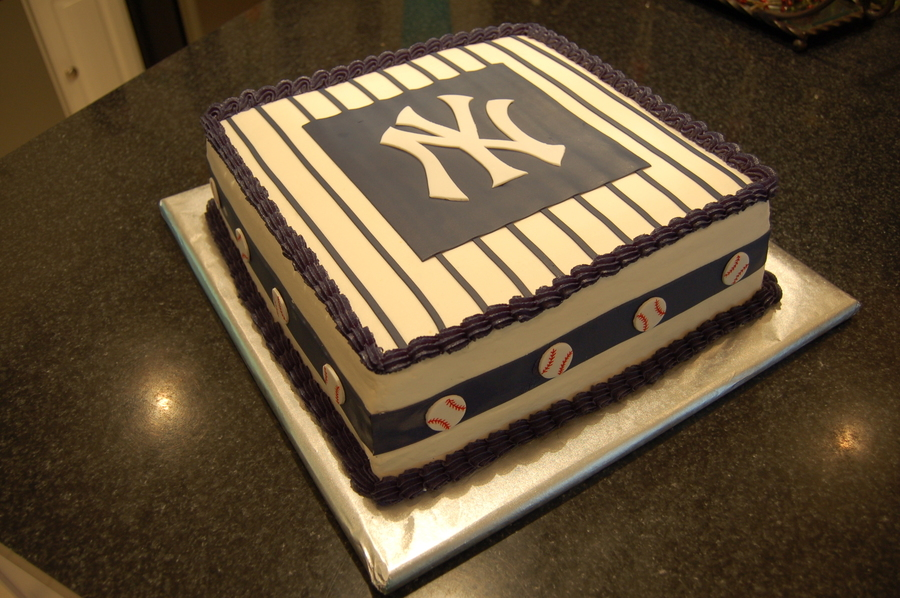 Ny Yankees Cake Cakecentral Com