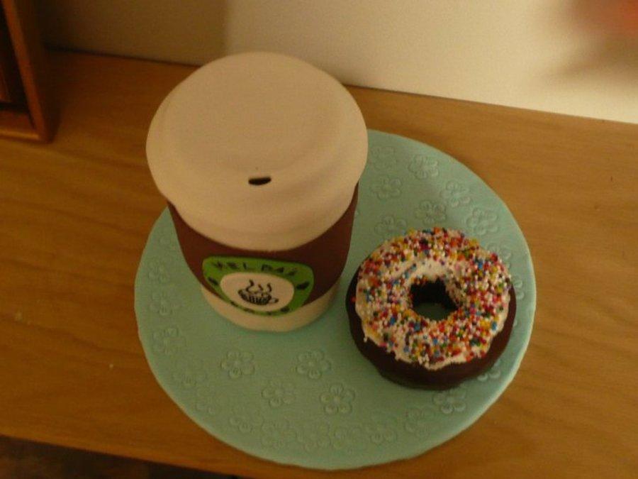 Coffee & Donut - CakeCentral.com