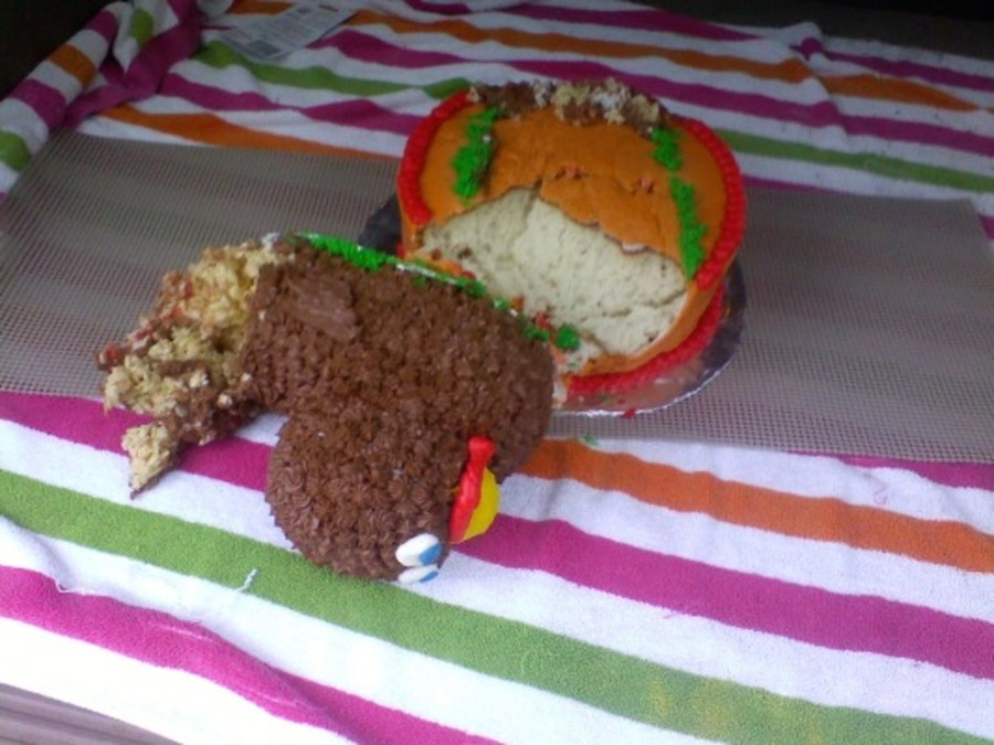 Evil Turkey Cake on Cake Central