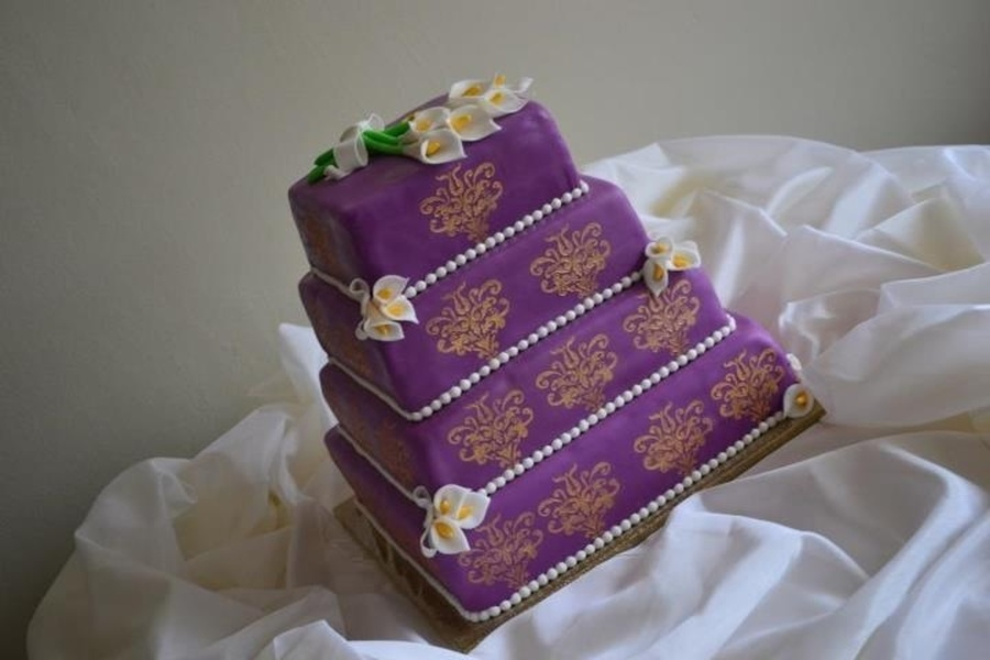 My Favo Weddingcake  on Cake Central