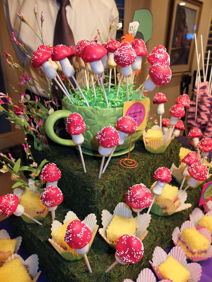 Mad Hatter Tea Party Cake Pops Cakecentral Com