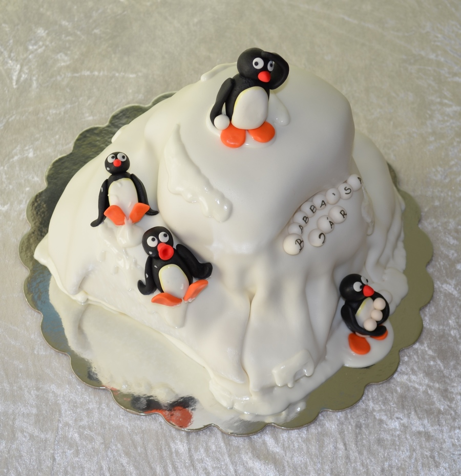 Pingu On The Ride on Cake Central