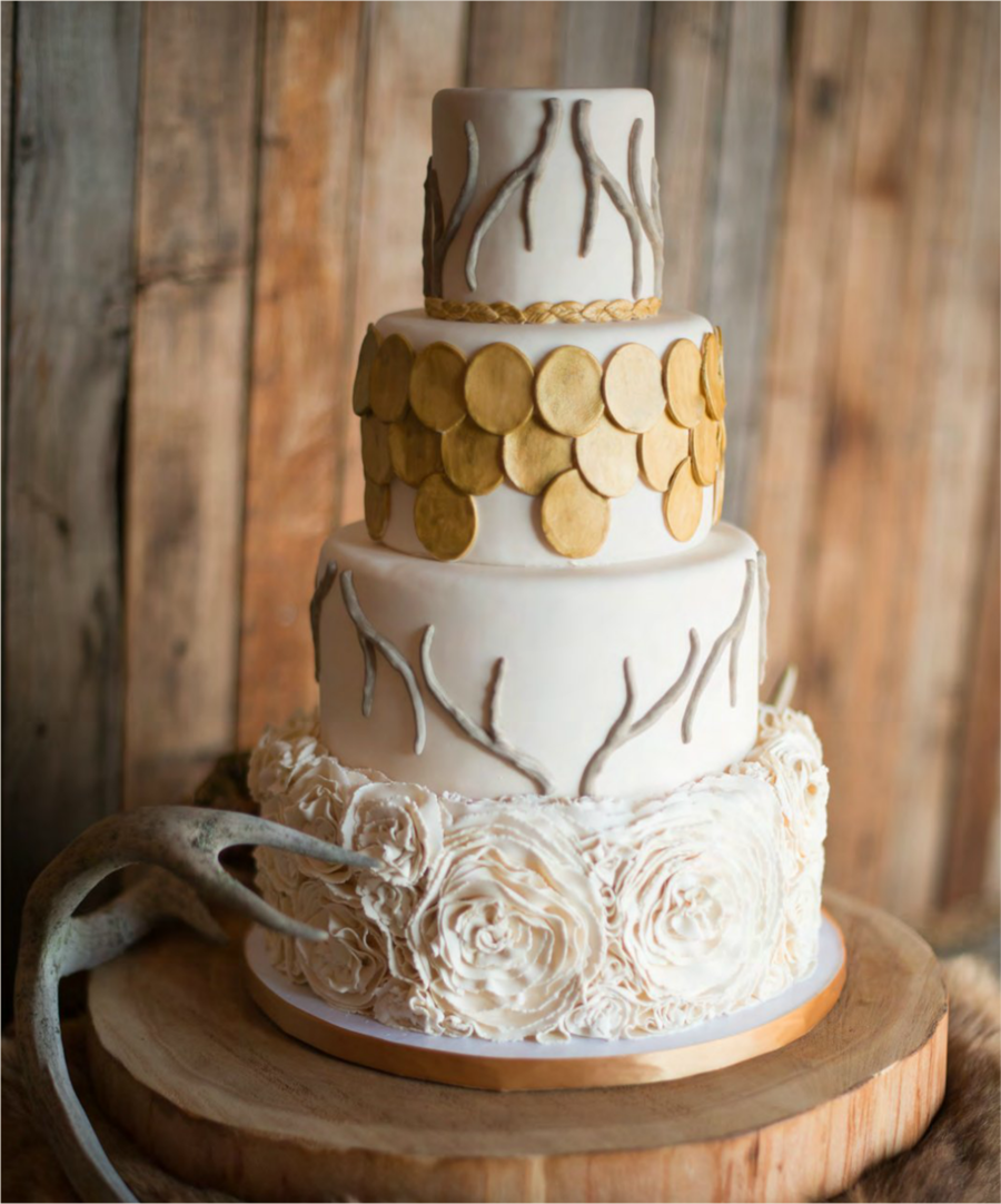 Rustic Beauty on Cake Central