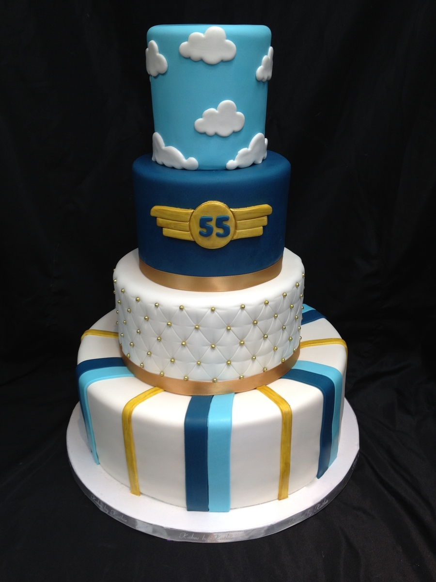 Aviator Birthday on Cake Central