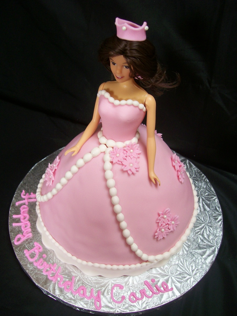 Princess Barbie  on Cake Central