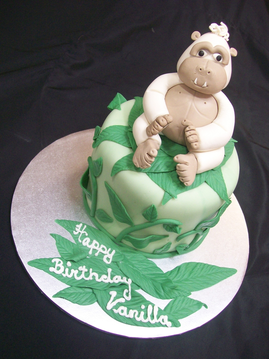Vanilla Gorilla on Cake Central