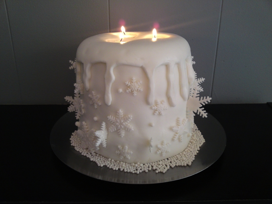 Candle Cake on Cake Central