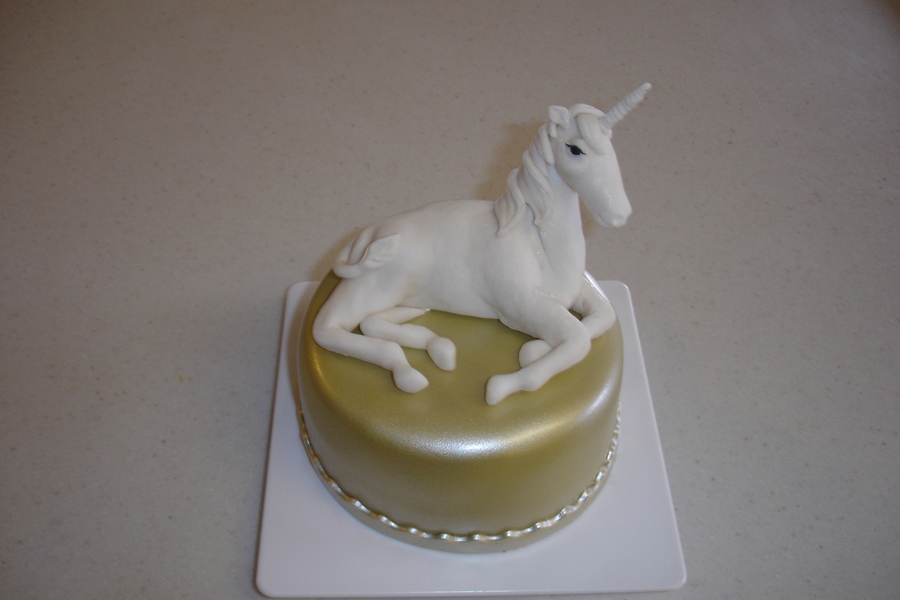 Unicorn Birthday Cake on Cake Central