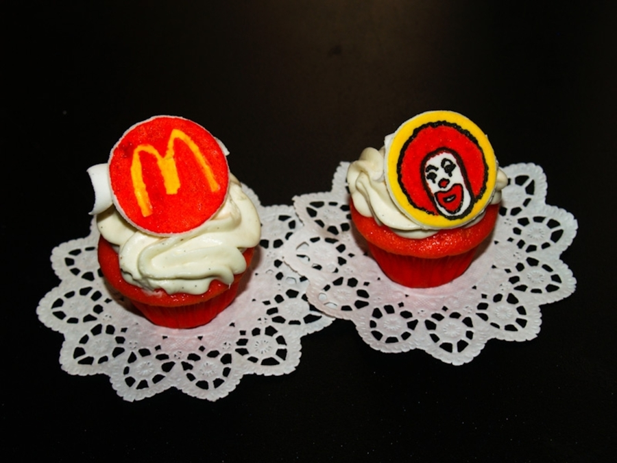 Mcdonalds Cupcakes on Cake Central