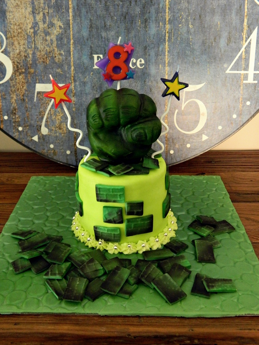 Mini Hulk Cake on Cake Central