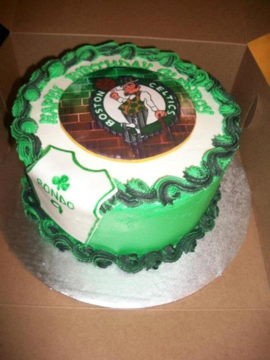 Boston Celtics Cake on Cake Central