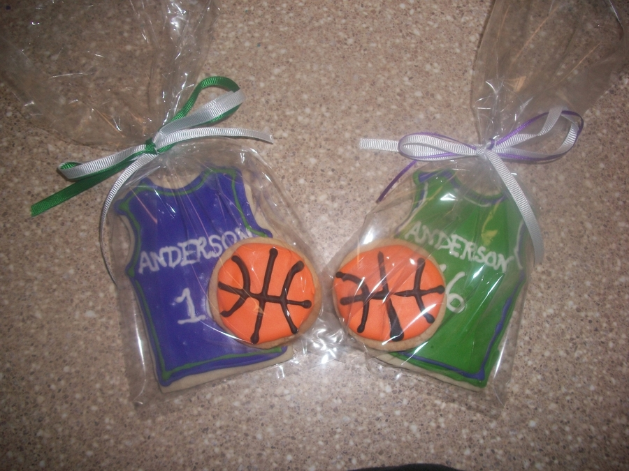Basketball Themed Wedding Cookie Favours Cakecentral