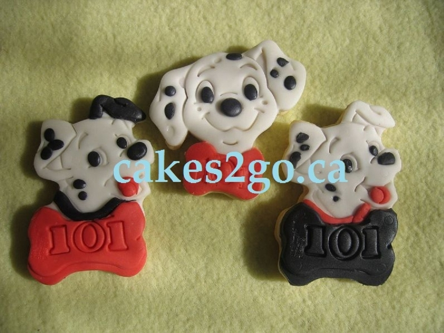 101 Dalmation Cookies on Cake Central