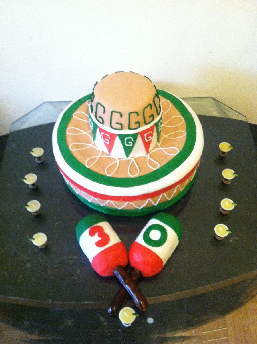 Sombrero Mexicano on Cake Central