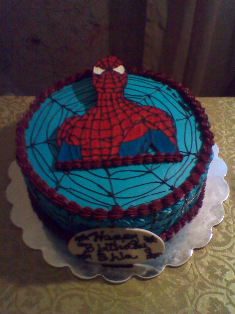 Spaiderman Cake on Cake Central
