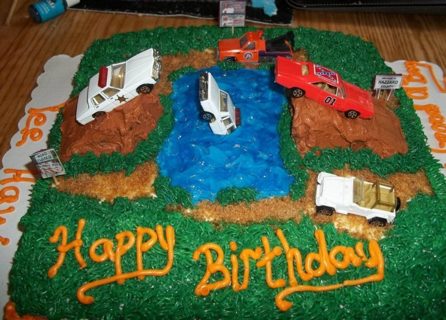Dukes Of Hazzard Bday Cake On Central Birthday Cakes