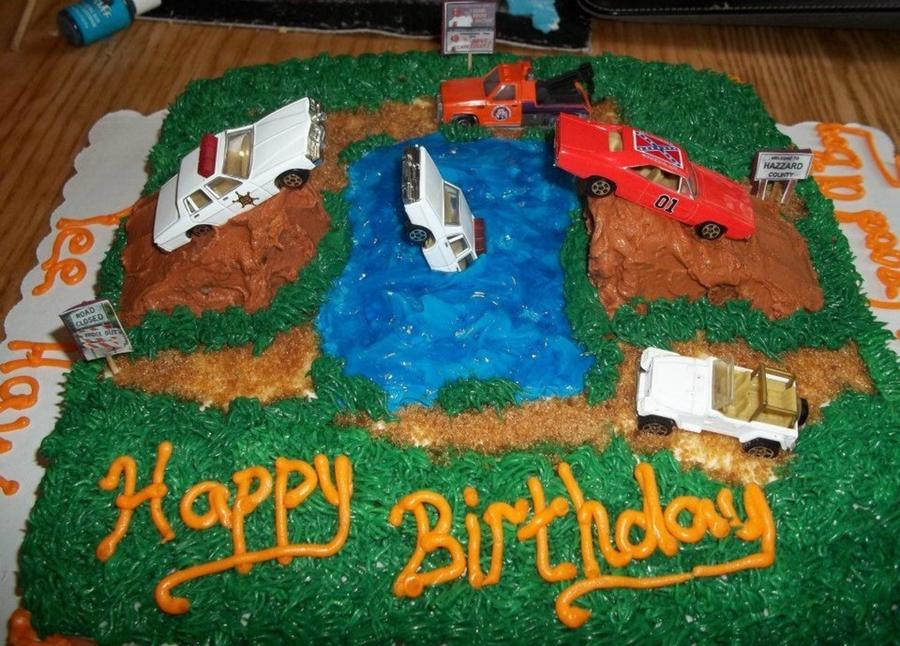 Dukes Of Hazzard Bday Cake Cakecentral Com