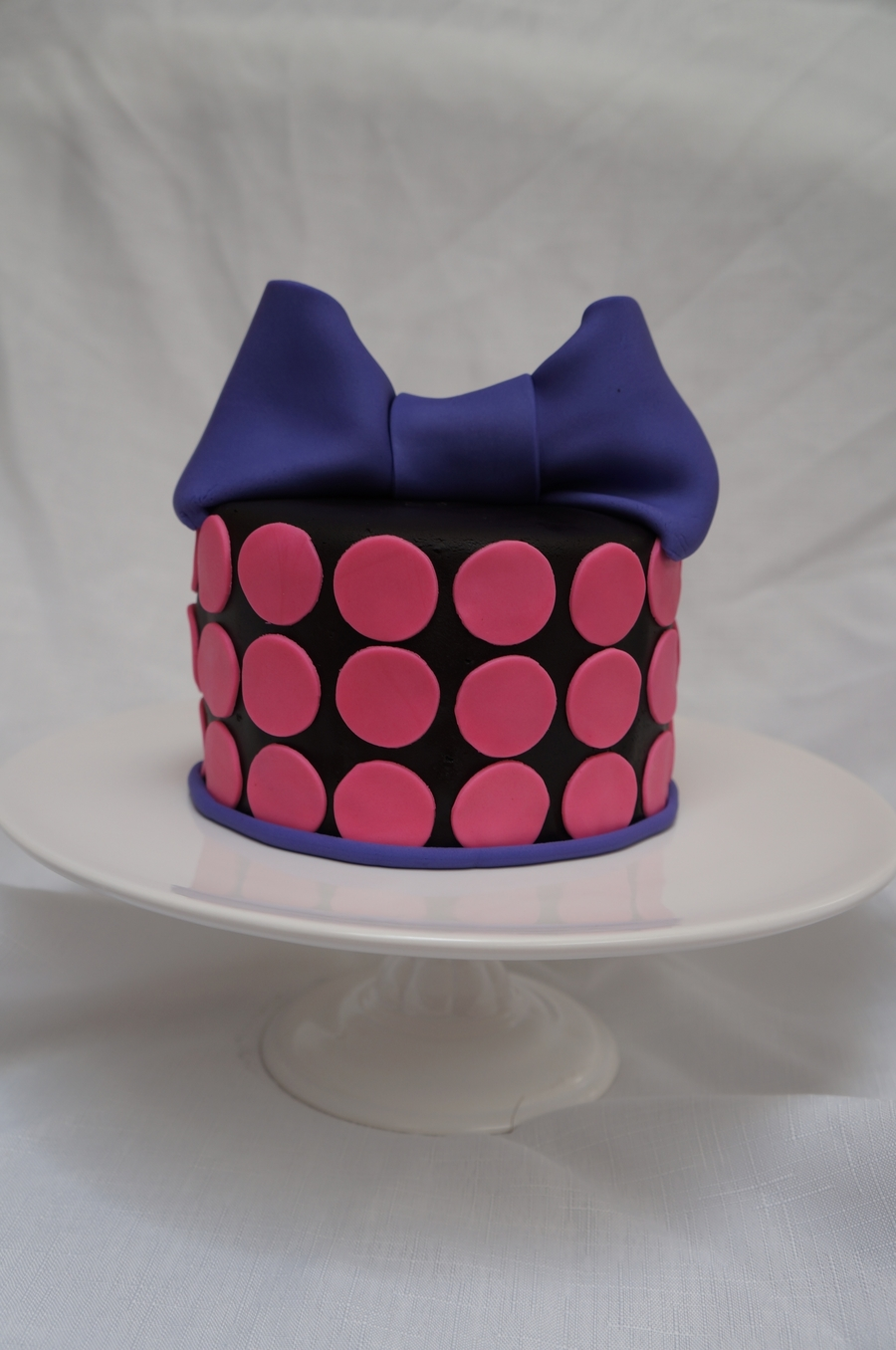 Pink Dots on Cake Central
