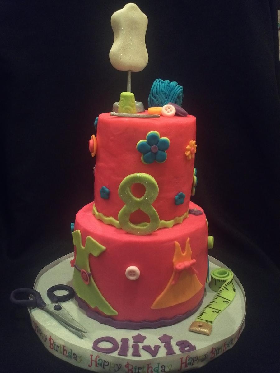 Fashion Designer Birthday Cake - CakeCentral.com