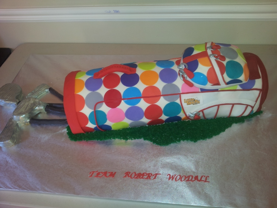 Loudmouth Golf Cake on Cake Central