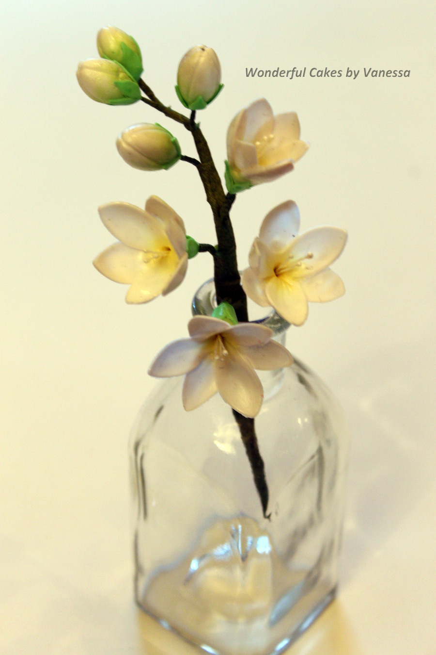 Freesia Made During The Course Pme Professional Diploma Sugar Flowers on Cake Central