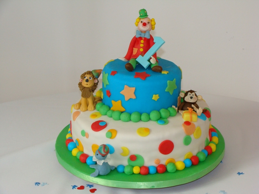 Circus Cake on Cake Central