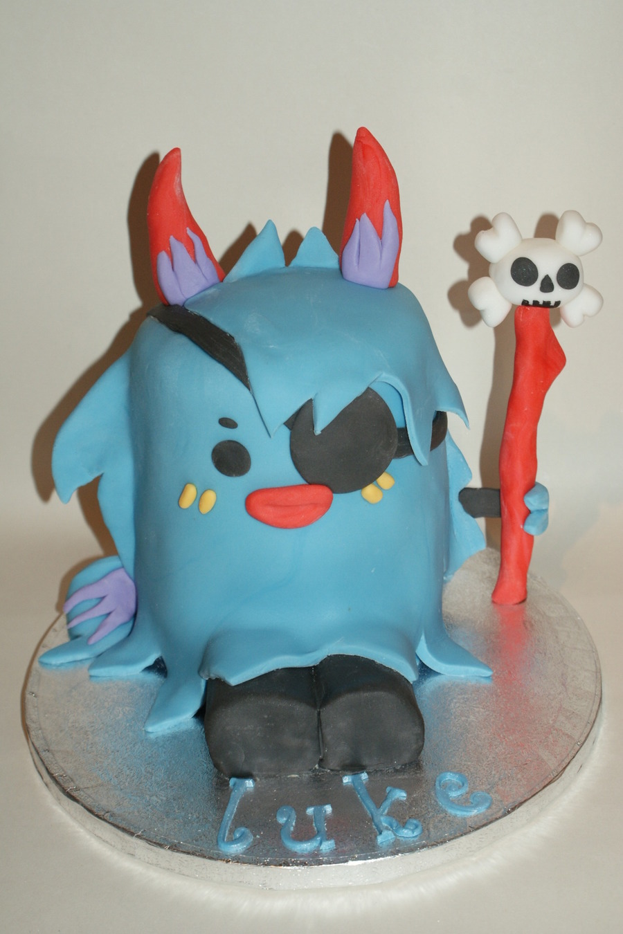 Ultra Rare Moshi Monster on Cake Central