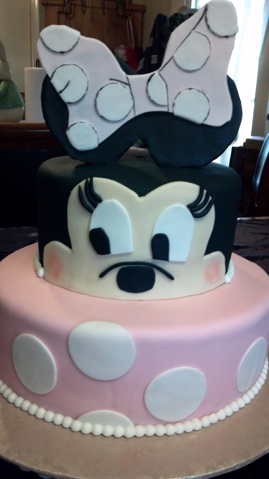 Minnie Mouse Birthday Cake For Baby Girl Turning 1