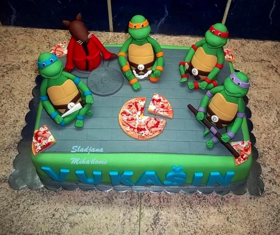 Ninja Birthday Cake Images