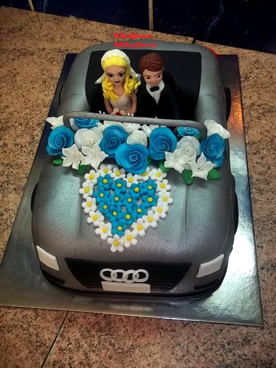 Wedding Car Cake Audi Convertible Cake Cakecentral Com