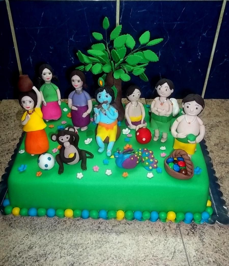 Little Krishna Cakecentral Com