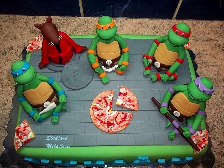 Images Teenage Mutant Ninja Turtle Cake