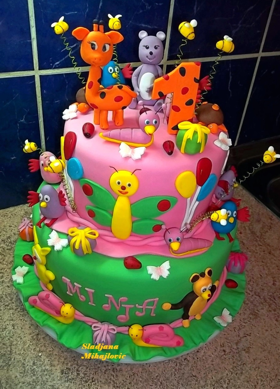 Baby Tv Cake on Cake Central