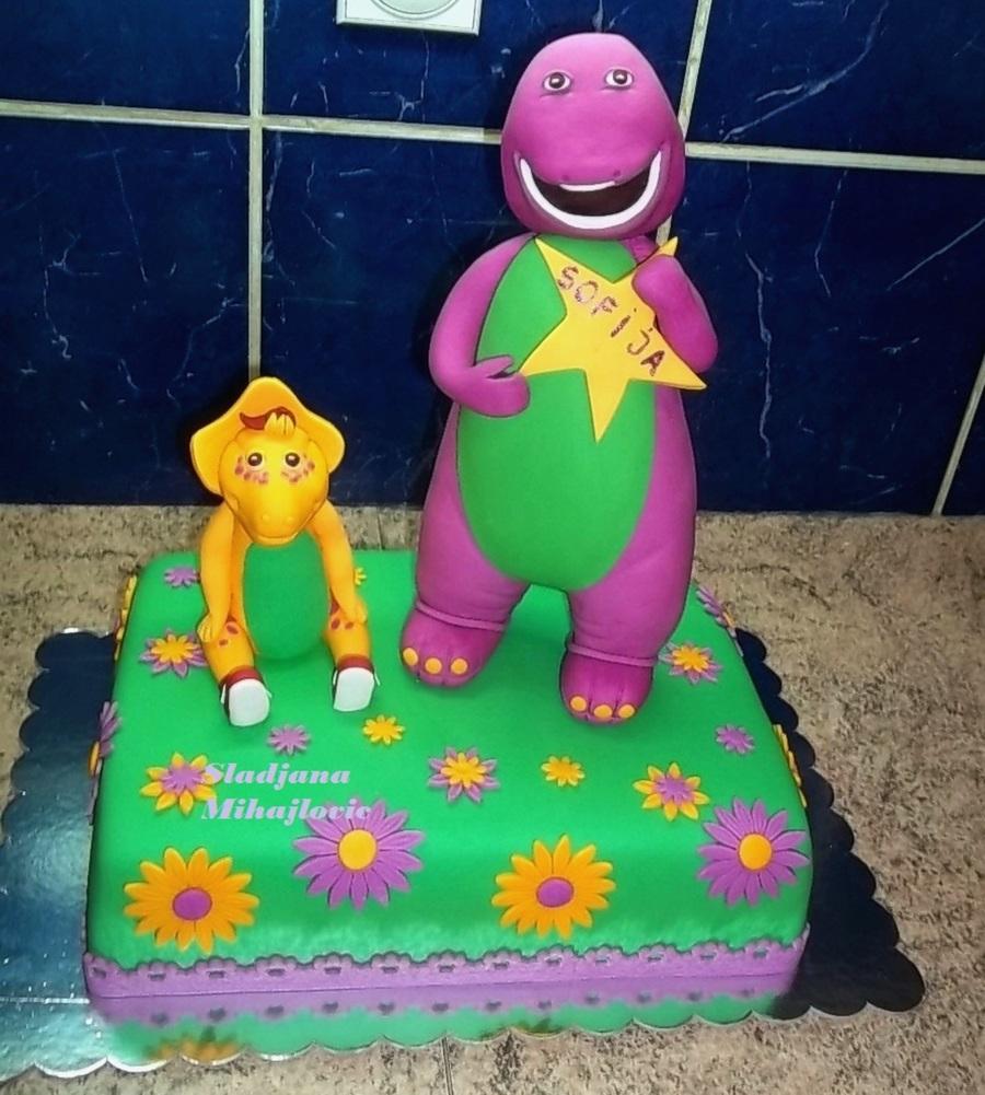 Dinosaur Barney Cakecentral Com