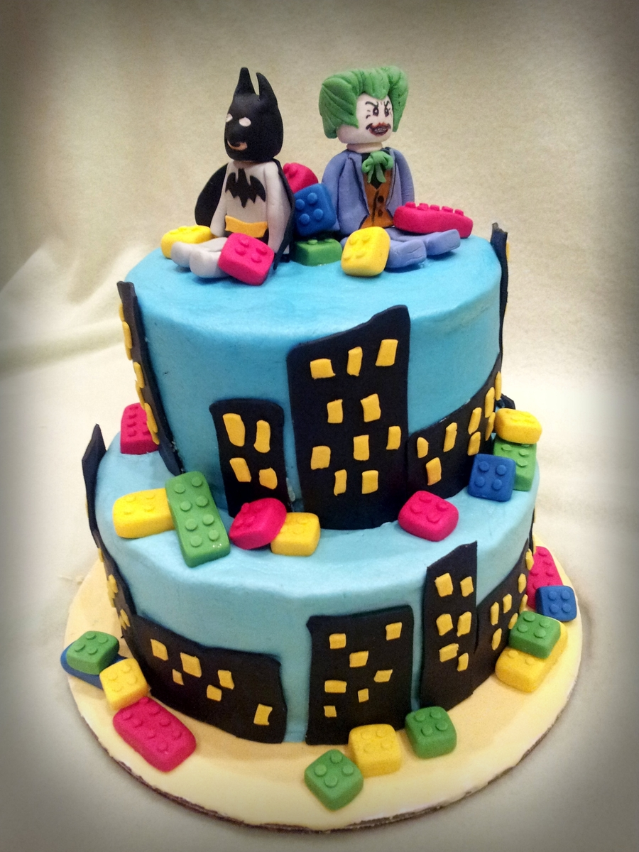 Lego Batman Cake Designs