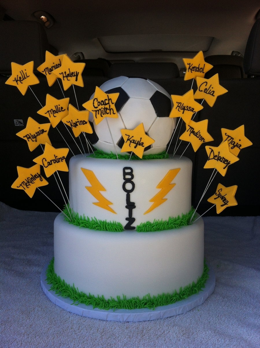 Soccer Team on Cake Central