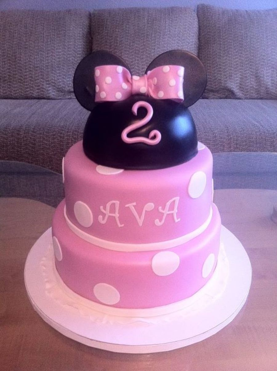Miss Diva Minnie Mouse on Cake Central