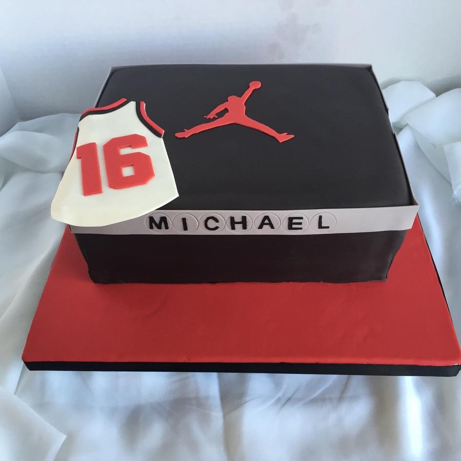 Jordan Shoe Cake Tutorial