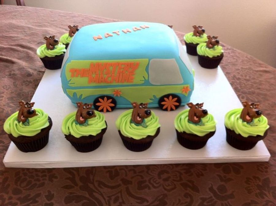 Scooby Doo Mystery Machine on Cake Central