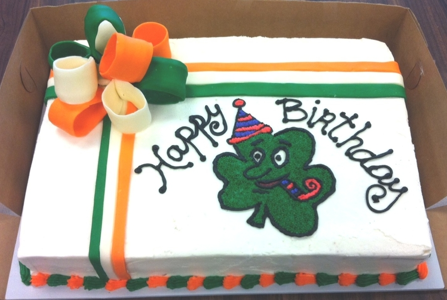 St. Patrick's Day Cake on Cake Central