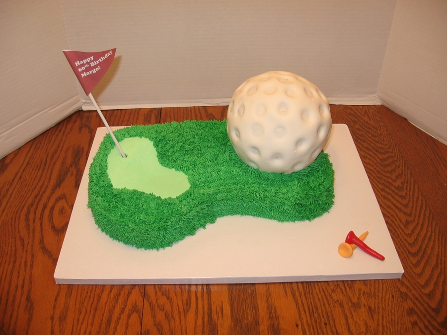 Golf Birthday-Retirement Cake on Cake Central
