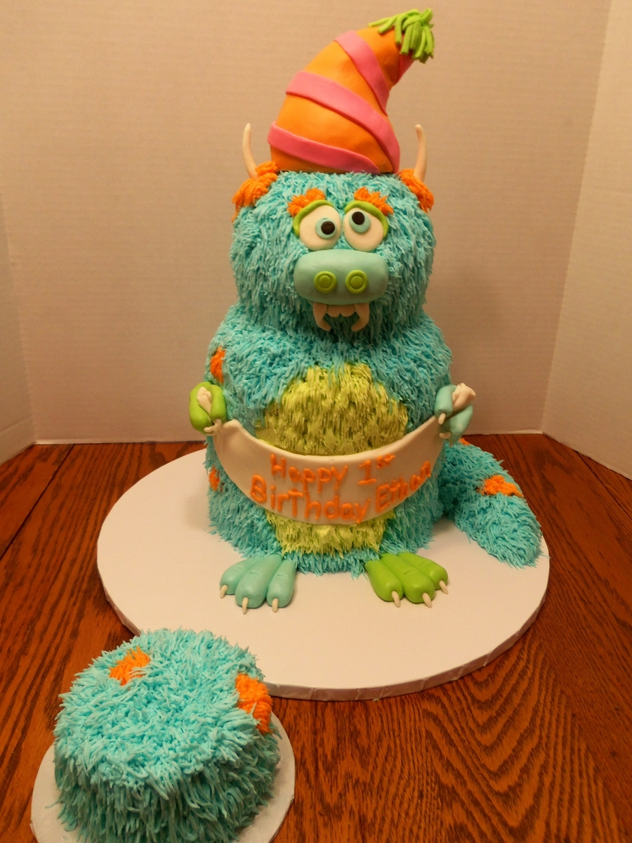 Nice Monster on Cake Central