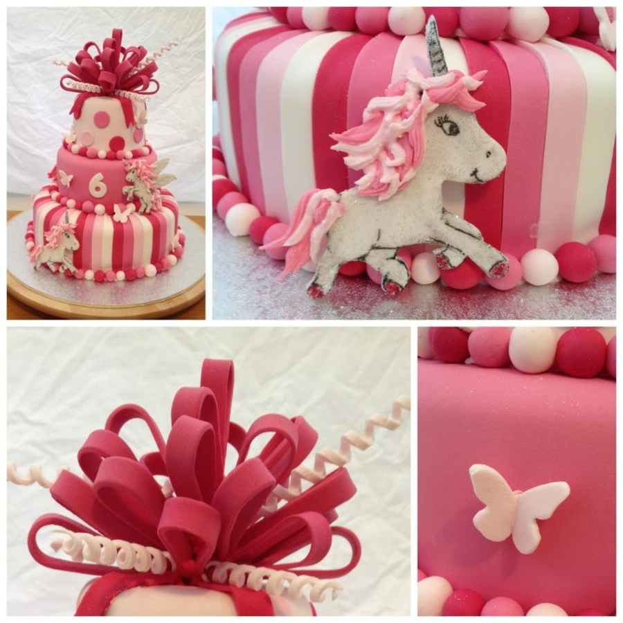 Pink Unicorn Birthday Cake Cakecentral Com