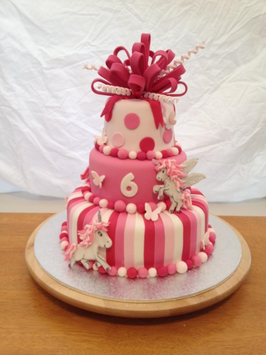 Pink Unicorn Birthday Cake Cakecentral Com