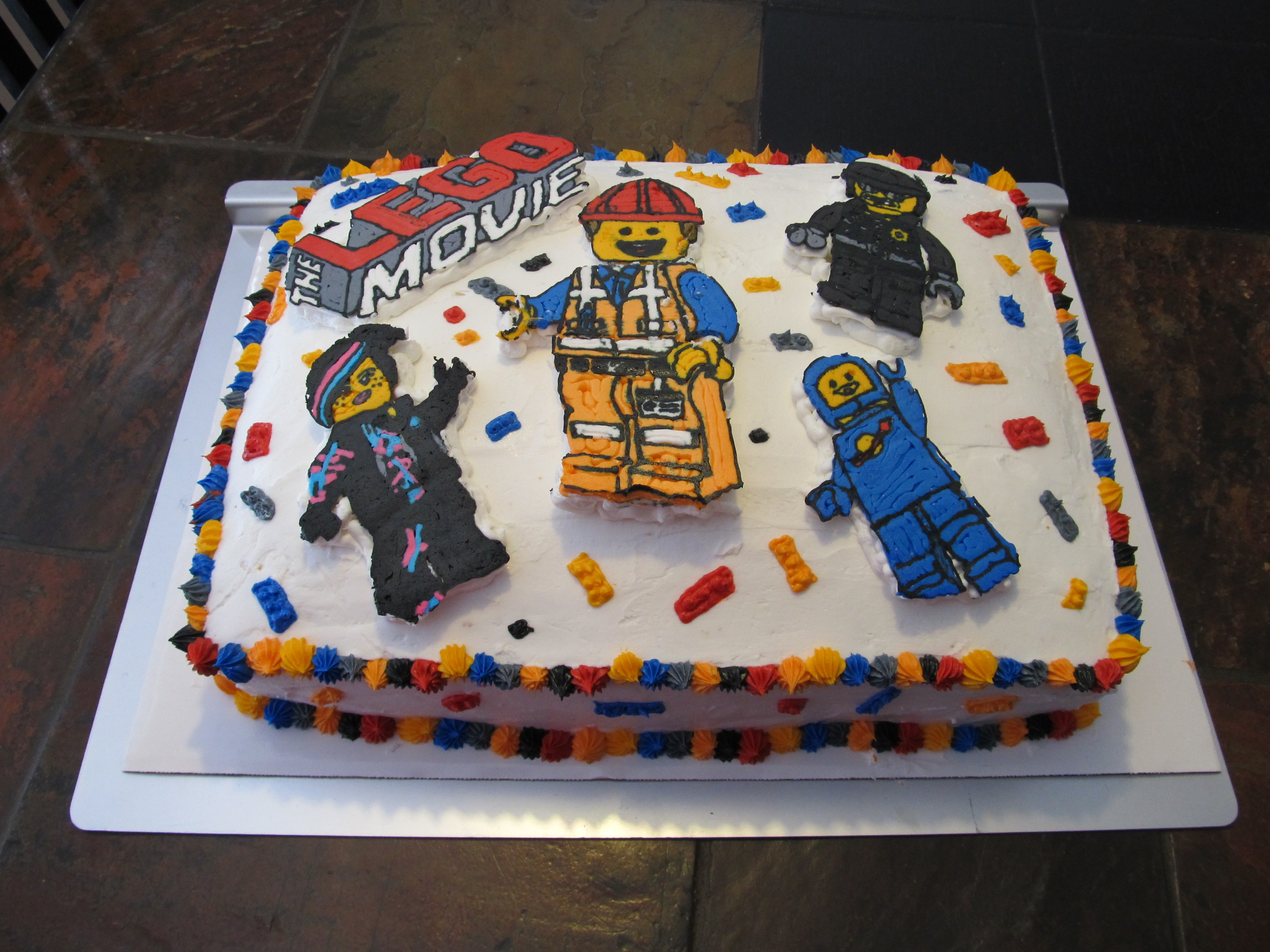 Lego Movie Cake Cakecentral Com