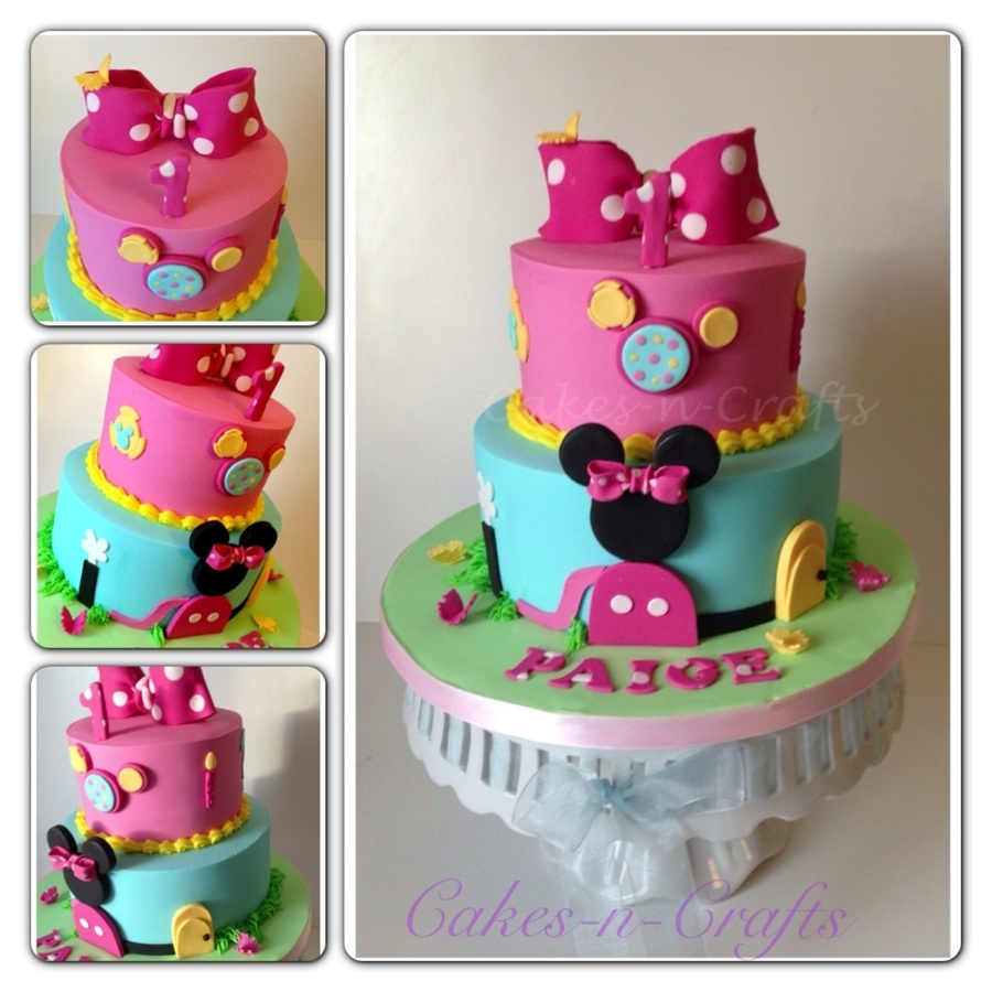 Minnie Mouse Clubhouse Cakecentral Com