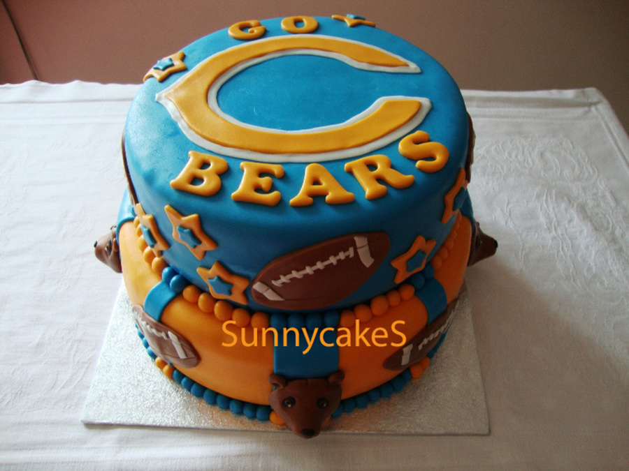 Go Bears!! on Cake Central