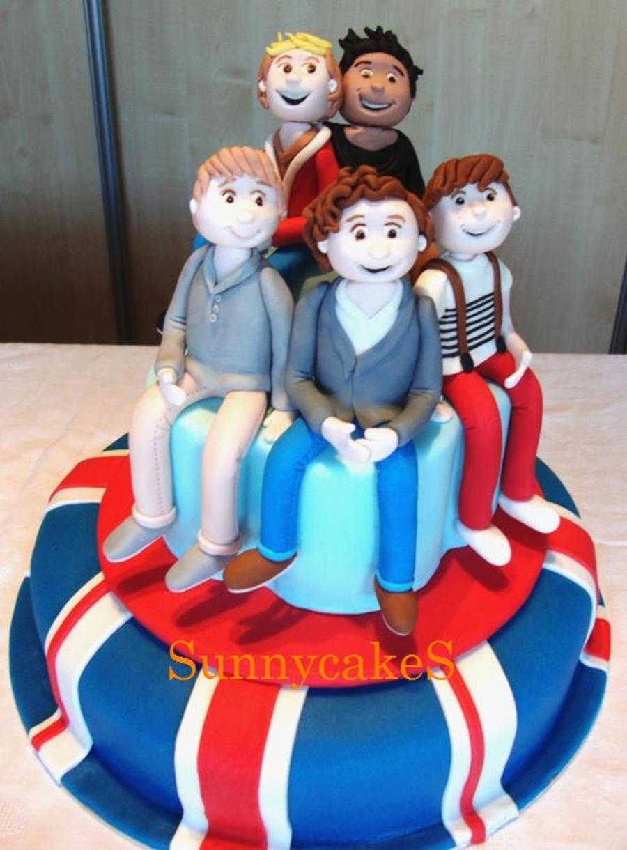 One Direction Cake For My Daughter on Cake Central
