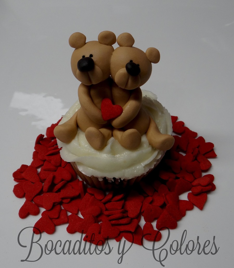 Beary Happy Valentine's Day! on Cake Central