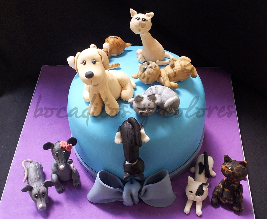 Pets Galore  on Cake Central
